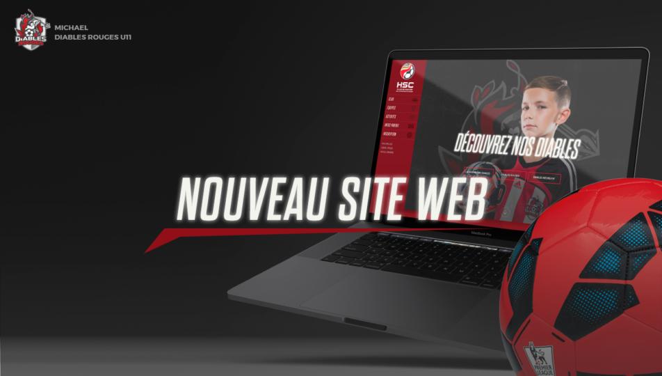 Un nouveau site Web pour le Club